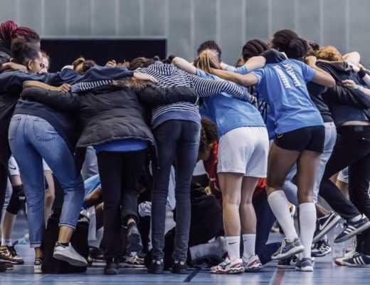 handball club elodie garnier sara justine elise alix